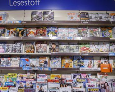 grais abonnement på ukeblader og aviser